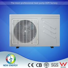 air to water machine small heat pump pool heater