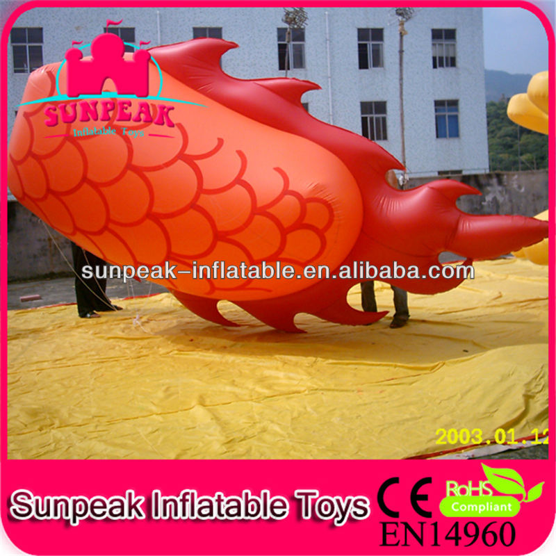 Inflatable Dragon For Sale/ Inflatable Helium Balloon for Advertising