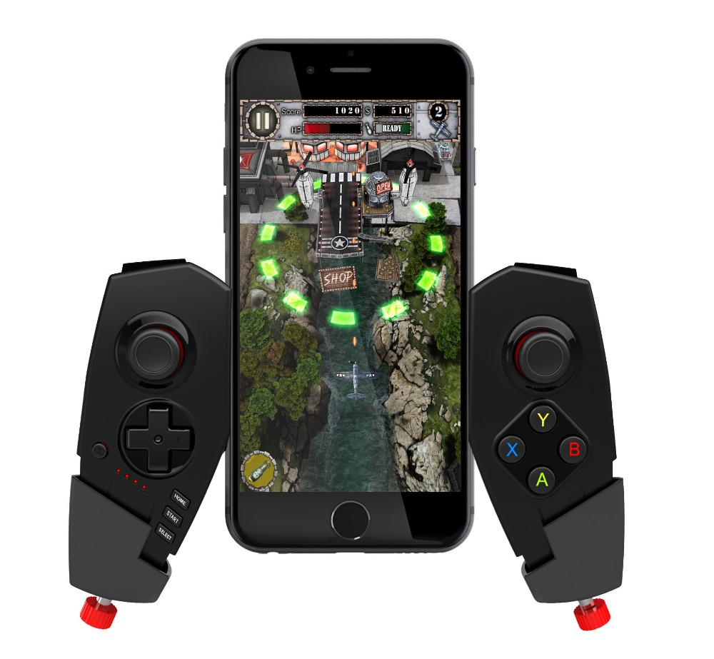 IPEGA PG-9055 Adjustable Wireless Bluetooth Game Pad Controller Telescopic Gamepad Multimedia Joystick for Cellphone /Tablet PC