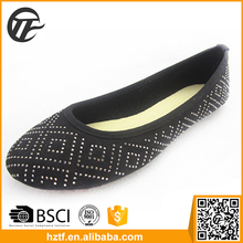 Old people new popular women flat shoes hot selling