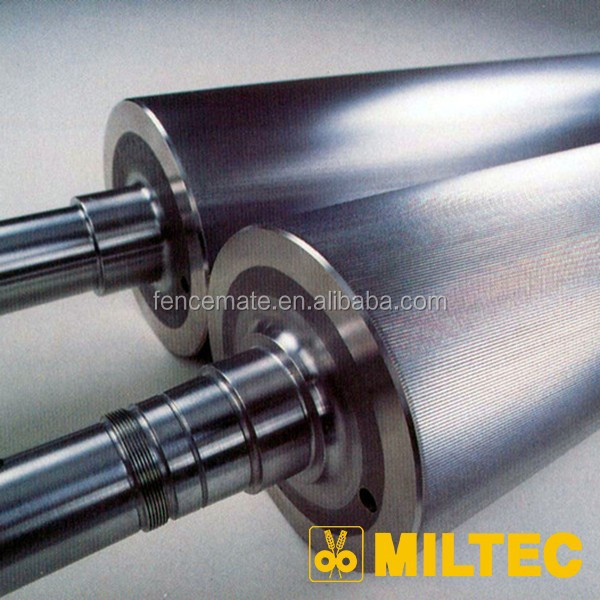 High quality centrifugally cast roll for milling iindustry, chilled cast iron mill roll