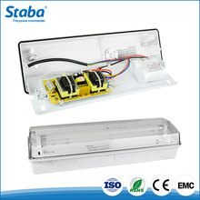 Zhongshan cheap price IP65 battery operated led emergency bulkhead lighting with T5 tube