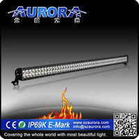 Aurora IP69K waterproof 50inch LED dual 30inch led light bar echo light bar