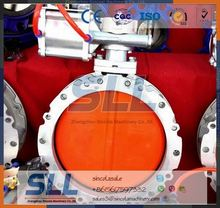 Customize Air Drive Rubber Lined Butterfly Valve