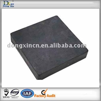 rubber crossing plate