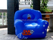 ICTI Approved ASTM standard and EN 71 Cartoon Santa Claus inflatable chair sofa relax