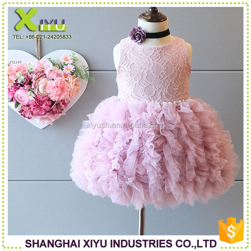 new China Supplier girl dress 3 year old