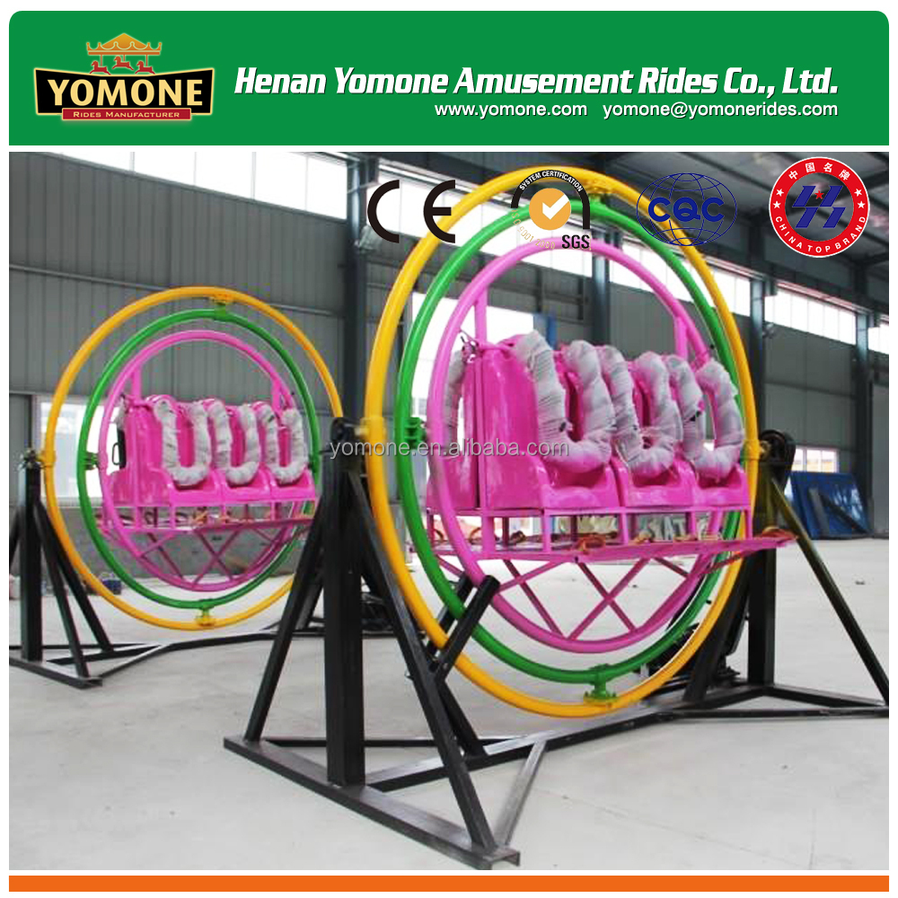 Cheap and popular exercise amusement rides of <strong>human</strong> gyroscope for 6 person for sale