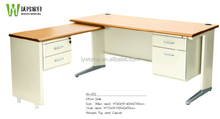 Modern executive desk office table design l-shaped office desk malaysia