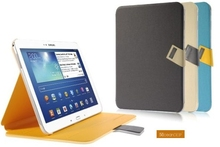 2014 new product leather flip cover case for samsung galaxy tab 3 10.1 china oem manufacturer