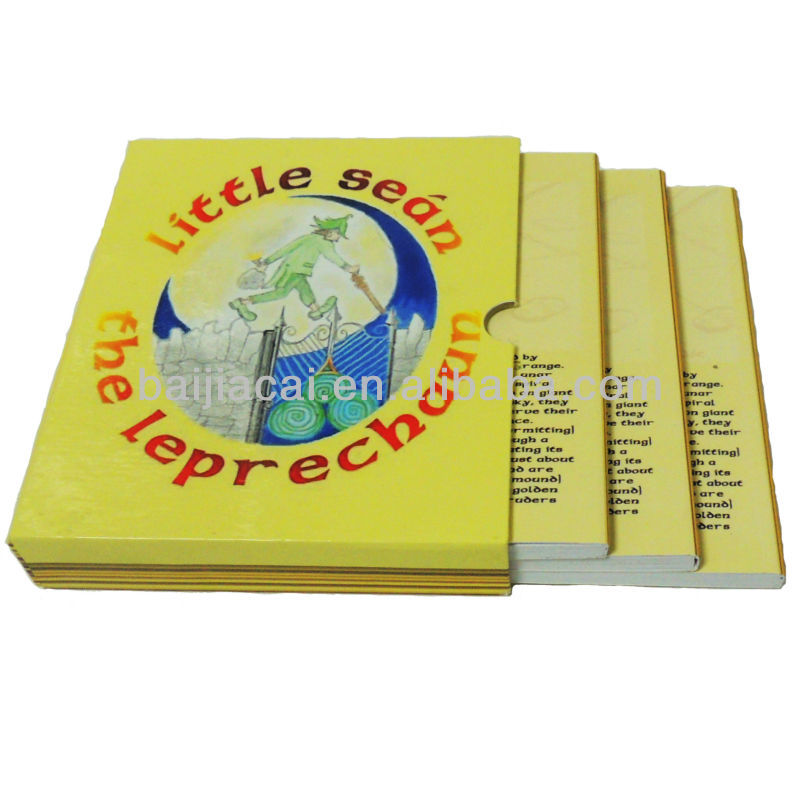 Children hardcover book printing cheap price printing service