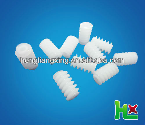 small plastic worm for motor