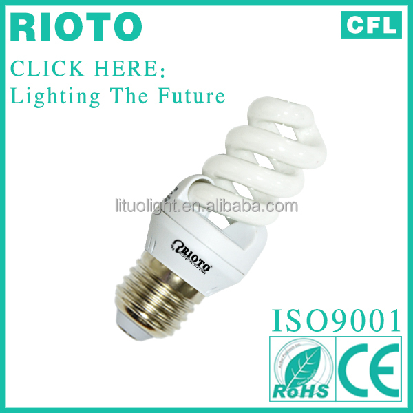 Hangzhou Factory Producing Full Spiral11W 13W 15W 18W Energy saving lamp Light 85% Energy Saver Bulbs electrical energy saver