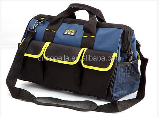Hot Sale Waterproof Heavy Duty Canvas Kit Electrician Tool Bag Waist Tool Bag