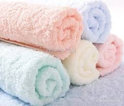 100% pure cotton hand towels