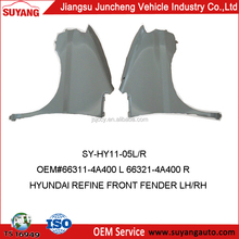 Replacement Front Fender For Hyundai Starex Car Auto Body Parts