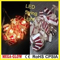 2m 20 LED lights indoor outdoor event christmas decoration sock string light