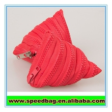 Zipper covered key bag mobile pouch