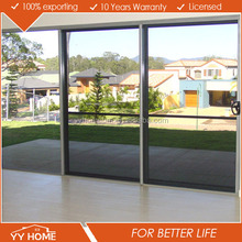 High quality double glazing aluminum sliding door track