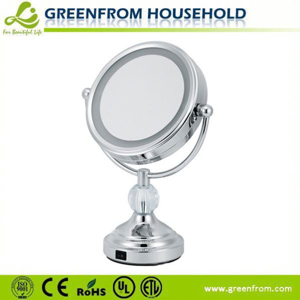 China Manufacturer Fancy Zinc Alloy Finishing Personalized Magnifying Of Mirror