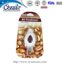 drop shape hanging air freshner for car auto parts