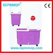 ISPINMOP spin mop bucket with wheels