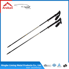 New product quick lock walking stick rubber feet Walking stick trekking stick