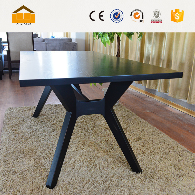 New Design Latest Solid Wooden Dining Tables Philippines