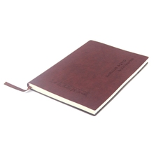 2016 new Custom gift A5 journal diary PU leather cover notebook