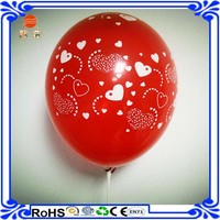 New year Wholesale 12'' Standard Color Polka Dot Latex Helium Balloon