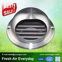 China Manufacture hvac stainless steel round air vent cap