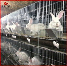 China Durable Cheap Metal Materials Rabbit Farming Cage(H type ,alibaba supplier,Made in China)