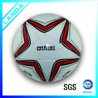 customized logo low price hot sell size 5 PU soccer ball/football