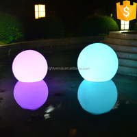 China Manufactuer factory sale RGB Color Changing Swimming pool led ball lighting