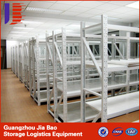 Chinese Manufacturer Double Pillar Double Sided Black Metal Bookshelf