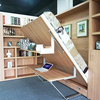 High Quality Italian Wall Murphy Bed With Office Table