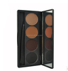 4 color eyebrow powder palette eye brow makeup powder kit
