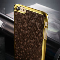 2015 Wholesale Top Seller Newest Diamond pattern pc case For Iphone 6 Plus Case Cover, For iPhone 6 Plus Plastic Case