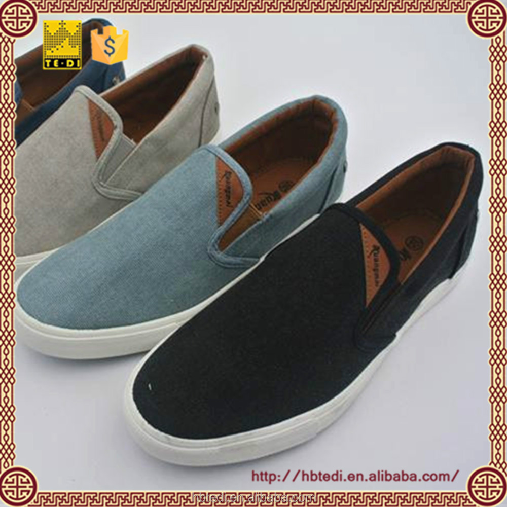Men's casual canvas shoes work travel a variety of functions casual shoes