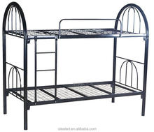 Double stainless steel bunk bed side rails