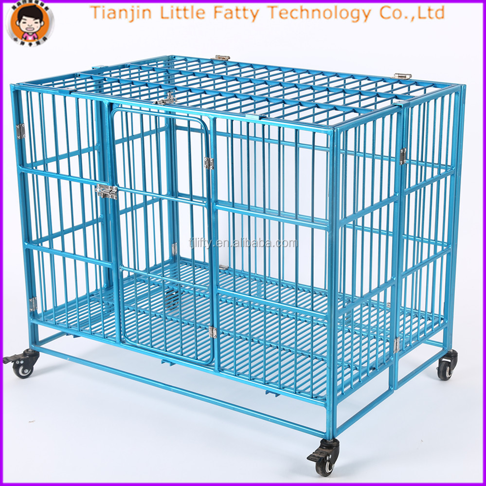 aluminum dog transport cage crate
