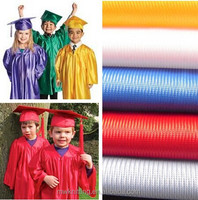 Academic Gown and caps dazzle fabric