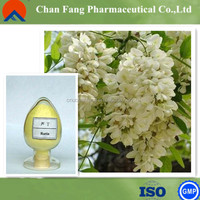Sophora japonica extract The rutin content of 98% natural high quality care raw materials Anti-inflammatory disease-resistant
