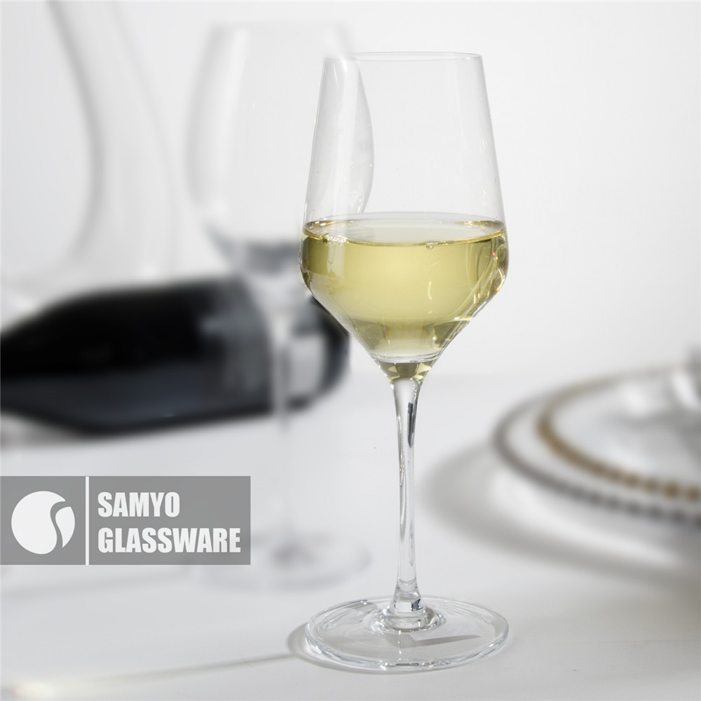 SAMYO Wholesale Promotional Mouth-blown Crystal Goblet wine glass
