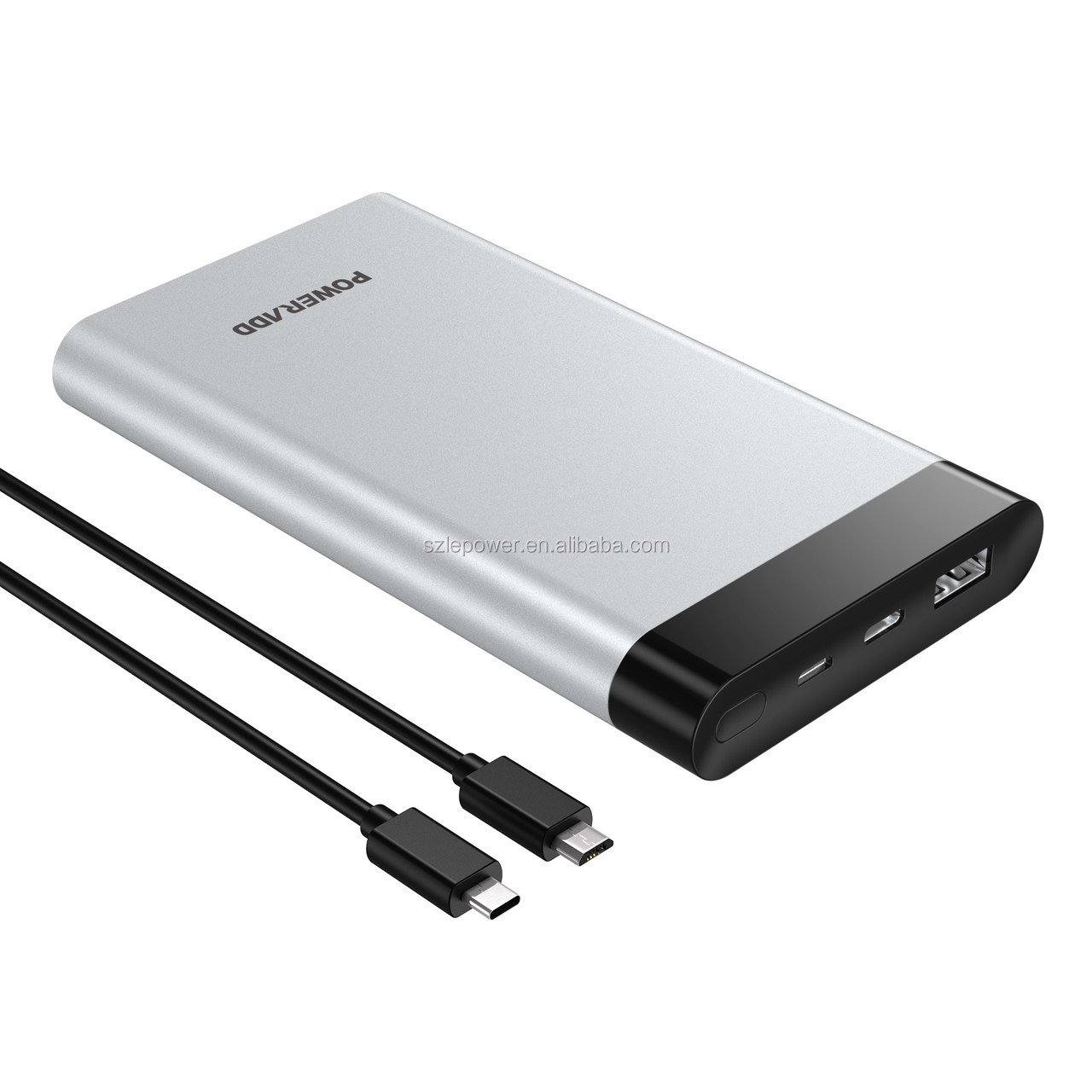 Poweradd Type C Input Virgo Portable charger Power Bank 10000mah