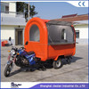 JX-FR220i Jiexian outdoor mobile off road motorcycle food cart on sales with CE qualified
