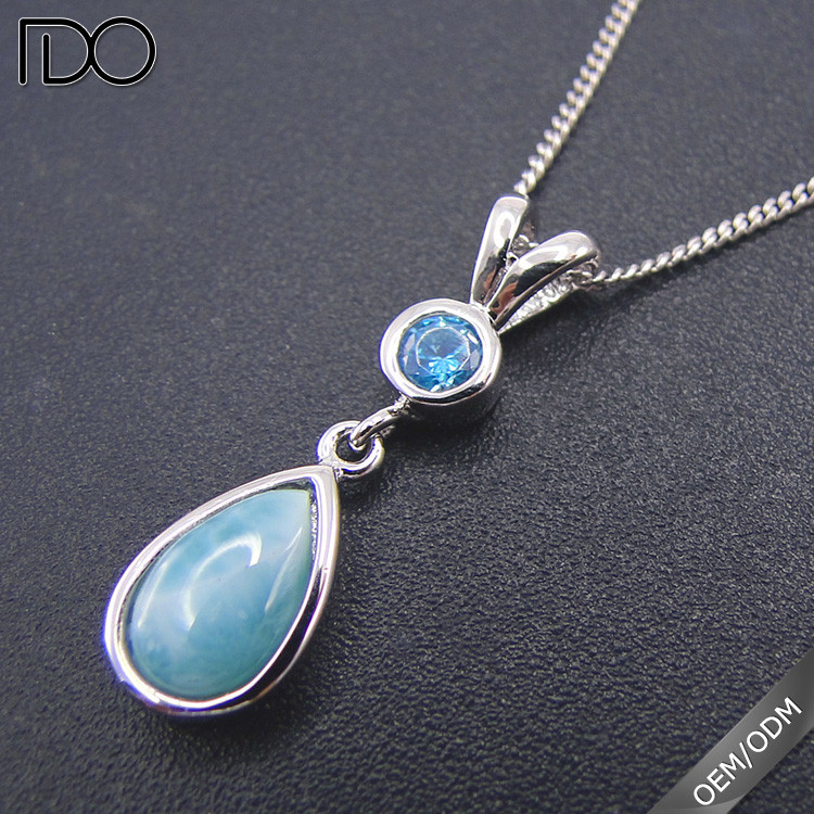 New elegant larimar fashion statement jewellery,gemstones pakistan,genuine silver jewelry gemstone