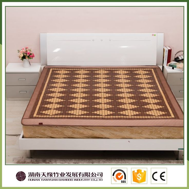 Comfortable very cheap bamboo sleeping camp mat and mattress