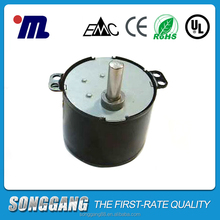 60ktyz AC electrical synchronous motor, Warm Air Blower synchronous motor, Dishwasher AC motor 50/60hz