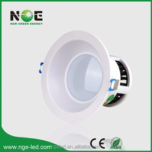 CE RoHS SMD 4 inch 8W led lights for shower stall